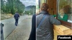 Dok je grupa pokušavala da kupi ulaznice, pojavio se čovjek koji radi na rampi i počeo da ih vrijeđa