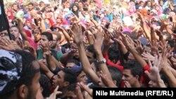 تظاهرات سابقة لمؤيدي جماعة الأخوان المسلمين في القاهرة