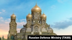 Проект главного храма Вооружённых сил России