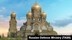 A three-dimensional concept of the Main Cathedral of the Russian Armed Forces