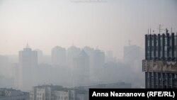 Хабаровск в дыму