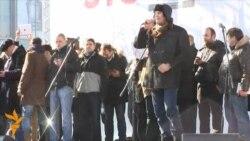 Митинг на Новом Арбате: Гарри Каспаров