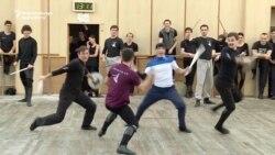 A Ukrainian-Georgian 'Dance Battle'