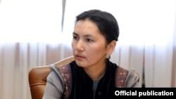 Бывший генеральный прокурор Кыргызстана Аида Салянова.