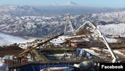 Armenia - The U.S.-based company Lydian International builds a gold mine at the Amulsar deposit, 9Dec2017. (Photo by Lydian Armenia)