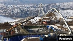 Armenia - The U.S.-based company Lydian International builds a gold mine at the Amulsar deposit, 9Dec2017. (Photo by Lydian Armenia)