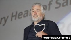 American film icon Robert De Niro won the Heart Of Sarajevo award at the Sarajevo film festival on August 12.