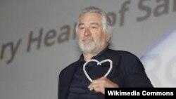 American film icon Robert De Niro won the Heart Of Sarajevo award at the Sarajevo film festival on August 12.