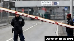 Policia hungareze