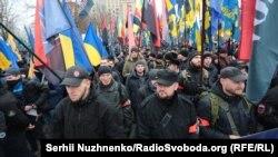 Марш національної гідності, Київ, 22 лютого 2017 року