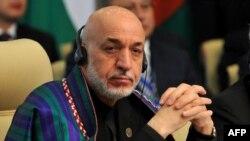 Presidenti afgan, Hamid Karzai (Ilustrim)