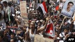 من تظاهرة الجمعة في صنعاء