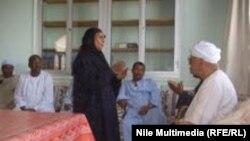 احد المجالس العرفية في صعيد مصر