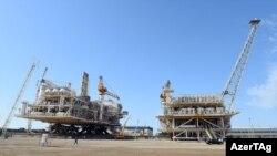 Shah Deniz Stage 2 platforms. (Shahdeniz). Baku. Azerbaijan. 01june2017
