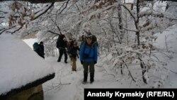 Зима на Ангарському перевалі, 31 грудня 2018 року