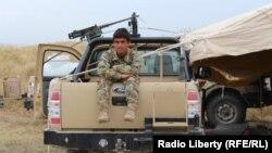 Kunduzda Talibanla döyüşən əfqan qüvvələri
