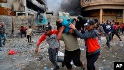 ایالات متحده گفته است رهبران عراق بهنگرانیهای مشروع معترضان، گوش دهند