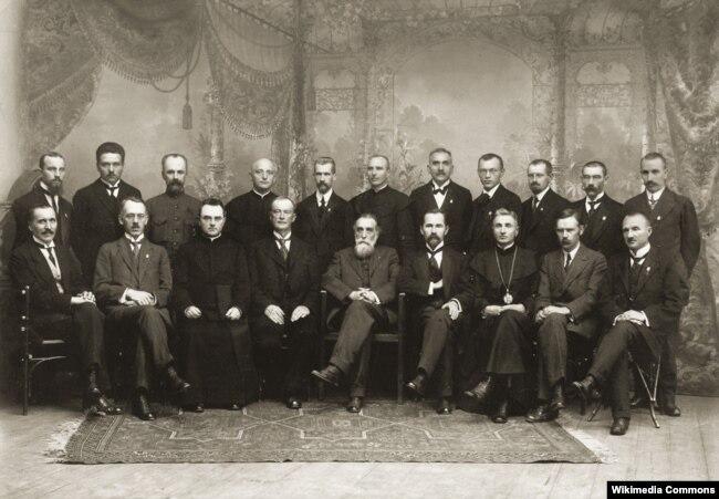 Літоўская Тарыба (Рада), 1918 год