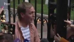Россия: Журналист Голунов озод бўлди, бироқ барибир унинг ҳимоясига митинг ўтказилади