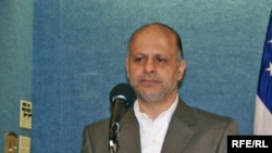 "Akbar Ganji, Iranian journalist and political activist, said the prize is ""moral support"" for Iran's opposition."