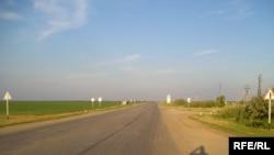 Дорога на Иссык-Куль. Шуская область, август 2008 года.