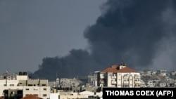 Газа шаарында Израилдин аба соккусунан кийинки көрүнүш. 29-май, 2018-жыл.