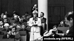 Галіна Сямдзянава ў Авальнай залі, фота Ул. Сапагова
