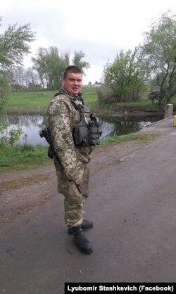 Сержант Сташкевич вирішив воювати, поки буде тривати війна
