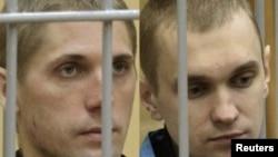 Осудените Владислав Коваљов и Дмитри Конавалов.