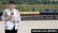 Valentina Ursu, relatând de la faţa locului