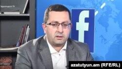 Заместитель министра образования и науки Ованнес Ованнисян в студии Азатутюн ТВ, 4 июля 2018 г․