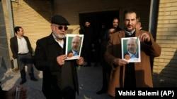 حامیان باقر قالیباف نامزد محافظهکار پیشتاز در تهران