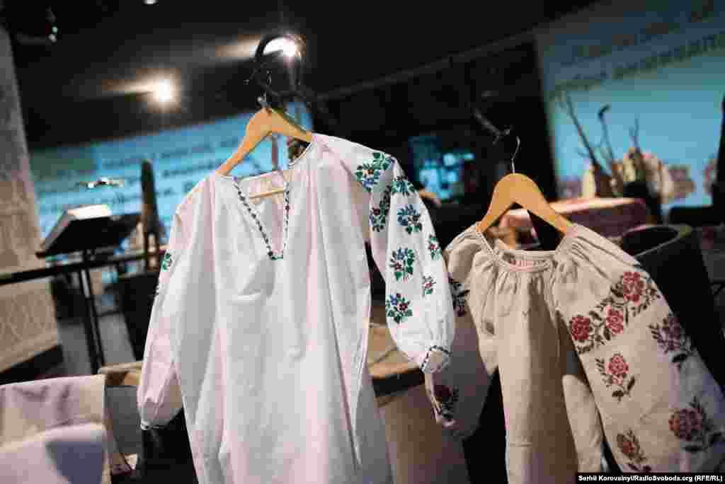 Сорочка дитяча для дівчини з Миргородського району Полтавської області