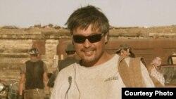 Азамат Тураев на съемочной площадке