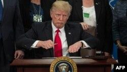 ԱՄՆ նախագահը ստորագրեց ներգաղթը սահմանափակելու մասին նոր հրամանագիրը