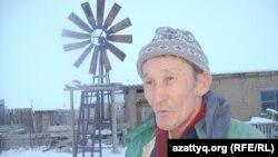 Житель села Шиликти Куттыбай Ибрагимов. 15 февраля 2014 года.