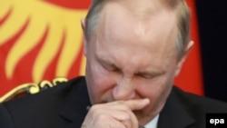Володимир Путін у Бішкеці виступив проти покарання влади Сирії за використання хімічної зброї