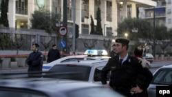 Выбух каля амэрыканскай амбасады ў Атэнах, 12.01.2007