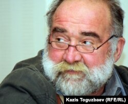 Грузиялық профессор Олег Панфилов. Алматы, 5 желтоқсан 2011 жыл.