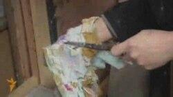 O pictoriță kazahă