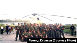 Рота, которой в прежние годы командовал Пономарев. Фото предоставлено Леонидом Кириковым