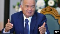 The late Uzbek President Islam Karimov