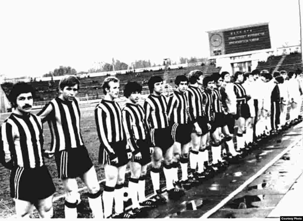 1954 жылы құрылған Алматының «Қайрат» командасы 1954-1991 жылдары СССР чемпионатына қатысты. Ең биік көрсеткіші – жетінші орын (1986 жыл). (Сурет «Қайрат» командасының баспасөз қызметінен алынды)