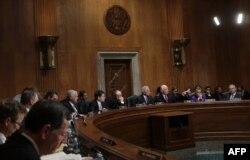 Заседание сенатского комитета по международным делам