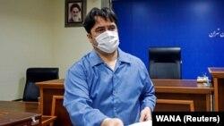 Рахулах Зам за време на судење во Техеран.