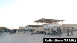 Ооган армиясы Гильменд провинциясындагы операцияу чурунда. 23-ноябрь, 2017-жыл.