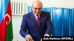 Azərbaycan Ümid partiyasının sədri İqbal Ağazadə, Bakı, 9 oktyabr, 2013.