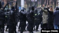 سرکوب اعتراضها در بلاروس