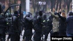 Акцыя пратэсту «Марш сьмелых» у Менску