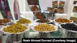 محصولات زراعتی افغانستان در نمایشگاه دوبی